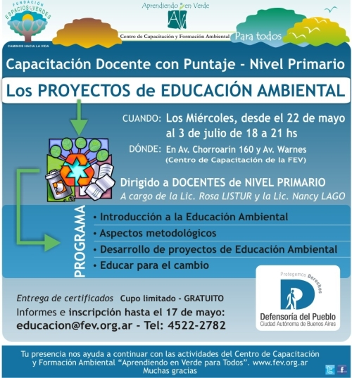 Folleto Curso docente